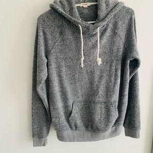 Grey soft garage hoodie